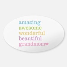 Grandmom - Amazing Awesome Decal
