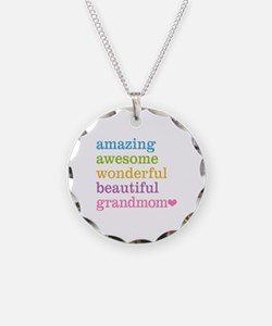Grandmom - Amazing Awesome Necklace