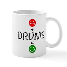 Plus Drums Equals Happy Mugs