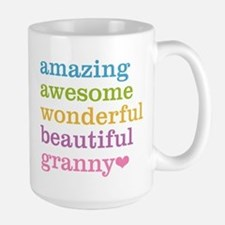 Granny - Amazing Awesome Large Mug