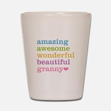 Granny - Amazing Awesome Shot Glass