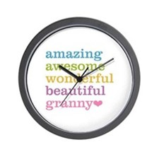 Granny - Amazing Awesome Wall Clock