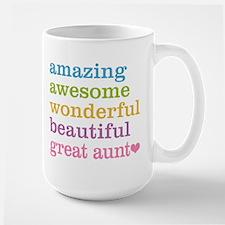 Great Aunt - Amazing Awesome Ceramic Mugs