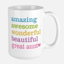 Great Aunt - Amazing Awesome Mug