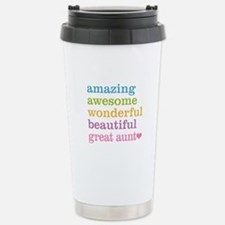 Great Aunt - Amazing Aw Travel Mug