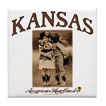 Kansas - Lil' Romance Tile Coaster