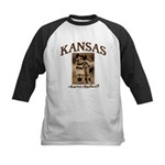 Kansas - Lil' Romance Kids Baseball Jersey