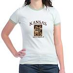 Kansas - Lil' Romance Jr. Ringer T-Shirt