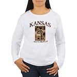 Kansas - Lil' Romance Women's Long Sleeve T-Shirt