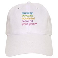 Great Gram - Amazing Awesome Baseball Cap