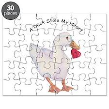 A Duck Stole My Heart Pekin Design Puzzle