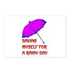 RAINY DAY Postcards (Package of 8)