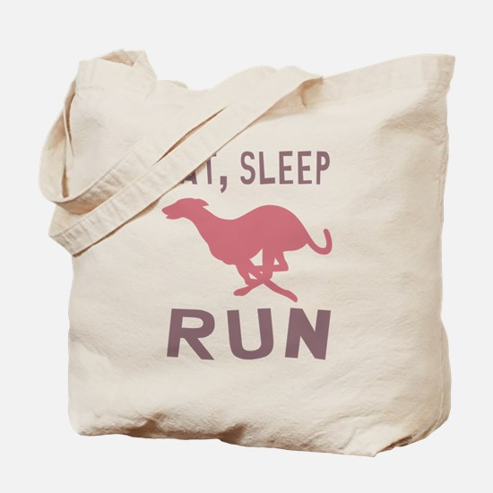 Eat Sleep Run Tote Bag
