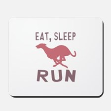 Eat Sleep Run Mousepad