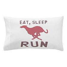 Eat Sleep Run Pillow Case