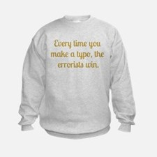 Typo Sweatshirt