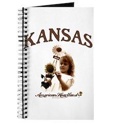 Kansas Windmill Girl Journal