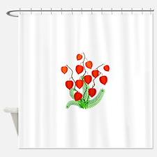 Red Lanterns Shower Curtain