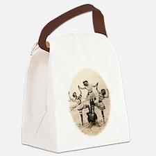 Beach Pyramid Canvas Lunch Bag