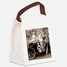 Flapper Fun Canvas Lunch Bag