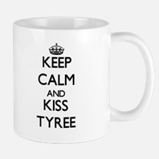 Keep Calm and Kiss Tyree Mugs