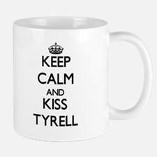 Keep Calm and Kiss Tyrell Mugs