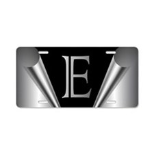 Steel Peel E Aluminum License Plate