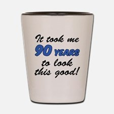 Took Me 90 Years Drinkware Shot Glass