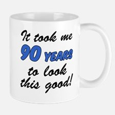 Took Me 90 Years Drinkware Mugs