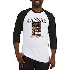 Kansas - School Dayz Baseball Jersey
