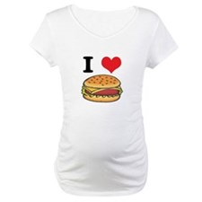 I Heart (Love) Cheeseburgers Shirt