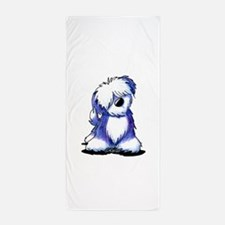Old English Sheepie Beach Towel