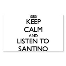 Keep Calm and Listen to Santino Decal