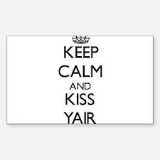 Keep Calm and Kiss Yair Decal