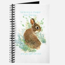 Gardening is Cheaper than Therapy Cute Rabbit Quot