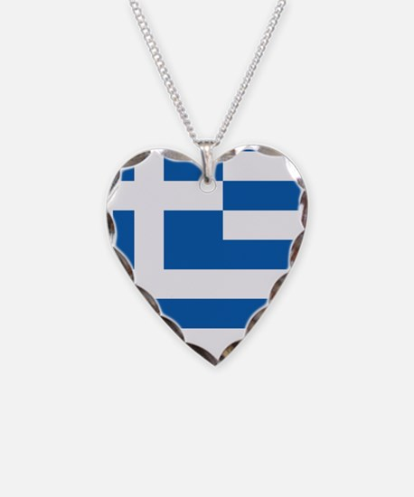 Flag of Greece Necklace