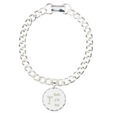 Mother Of The Bride Charm Bracelet, One Charm