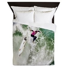 Surfing Wipeout queen Queen Duvet