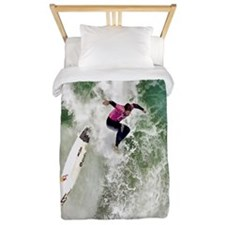 Surfing Wipeout twin Twin Duvet