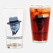 Churchill -Regulations Drinking Glass