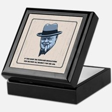 Churchill -Regulations Keepsake Box