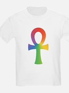 Rainbow Ankh T-Shirt