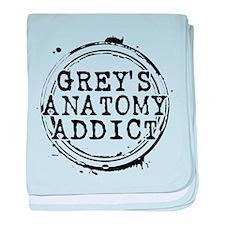 Grey's Anatomy Addict Infant Blanket