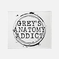 Grey's Anatomy Addict Stadium Blanket