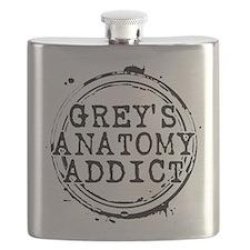 Grey's Anatomy Addict Flask