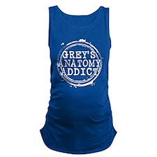 Grey's Anatomy Addict Maternity Tank Top