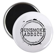 Gunsmoke Addict Magnet
