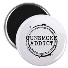 "Gunsmoke Addict 2.25"" Magnet (10 pack)"