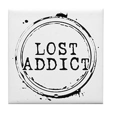 LOST Addict Tile Coaster