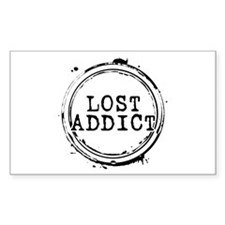 LOST Addict Rectangle Decal